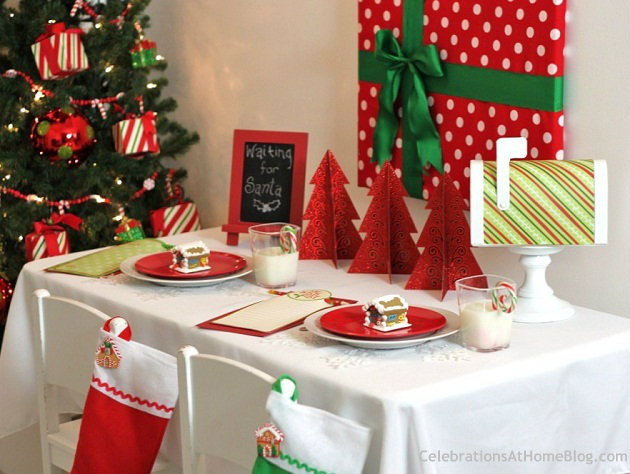 Budget Friendly Kids Christmas Table Celebrations At Home