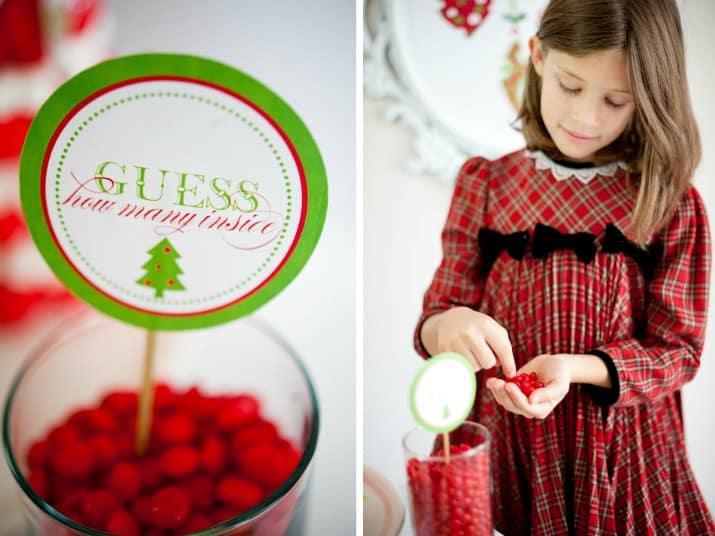 kids Christmas table ideas