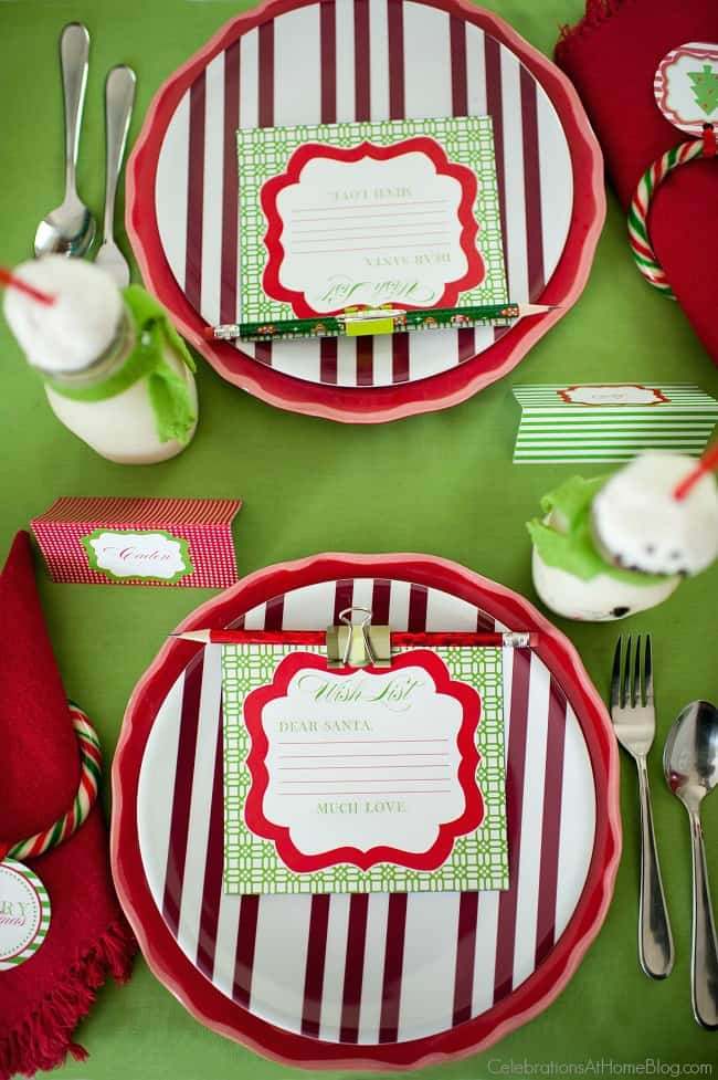 Kids Christmas table; You\u0027ll love this kids Christmas table set in classic red ... & Kids Christmas Table - Celebrations at Home