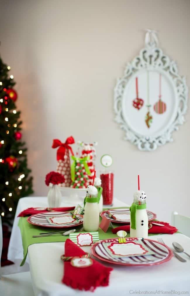 Kids Christmas table Kids Christmas table Kids Christmas table; You\u0027ll love this kids Christmas table set in classic red & Kids Christmas Table - Celebrations at Home