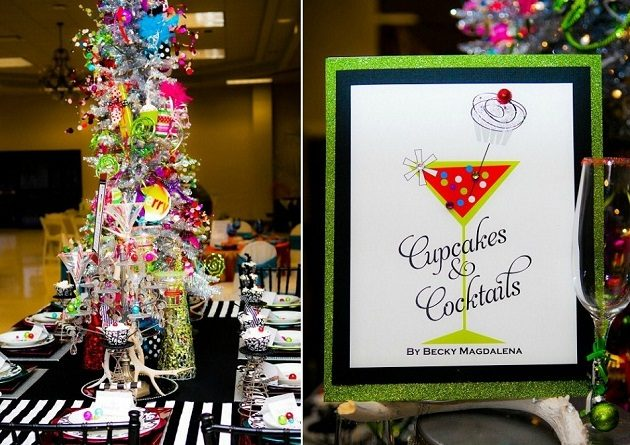 Cupcakes & Cocktails Whimsical Christmas {guest feature}