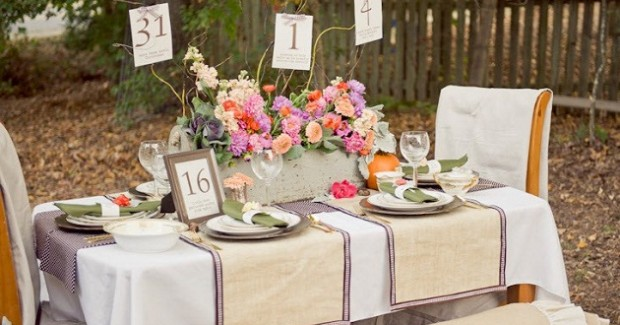 Pastel & Vintage Infused Bridal Shower Inspiration