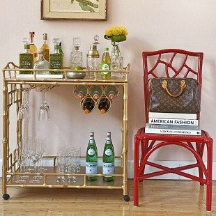 Trend Alert – Painted Rolling Carts