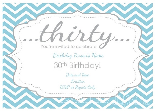 Free 30th birthday printables celebrations at home if filmwisefo