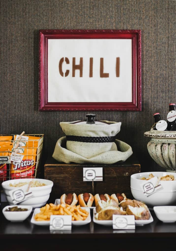 Exactly How to Set Up a Chili Bar (plus all purpose chili ...