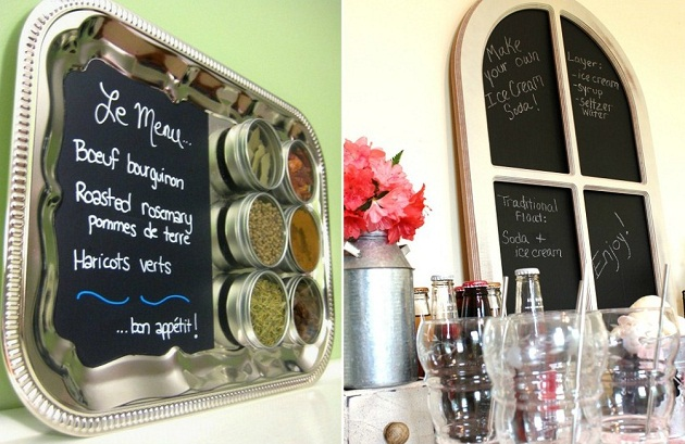 New Ideas For Chalkboard Paint Celebrations At Home