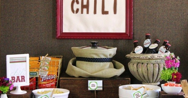 Set Up A Chili Bar + All-Purpose Chili Recipe!