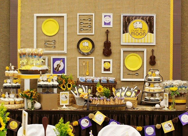 Nursery Rhymes Baby Shower Decorations Decorating Ideas