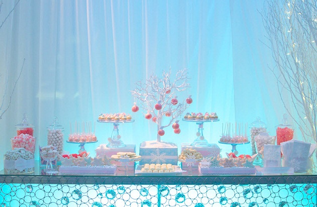 Winter Wonderland Dessert Table guest feature Celebrations at Home