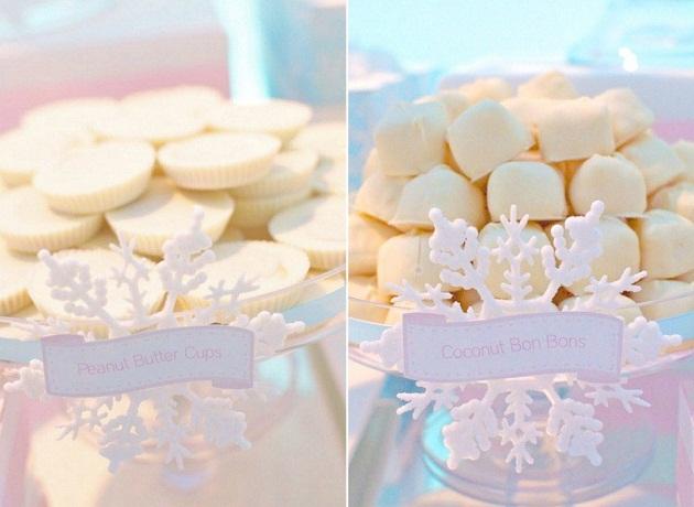 Winter Wonderland Dessert Table Guest Feature