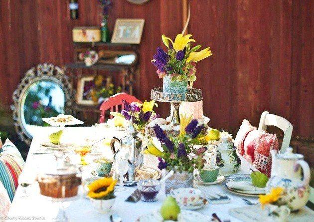 Garden Tea Party Styled Shoot