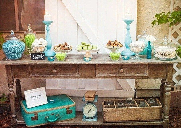 'Something Blue' Wedding Details {Guest Feature}