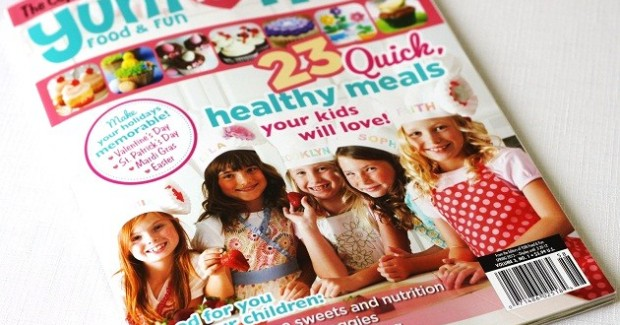 Published In Yum Food & Fun For Kids – Spring 2012