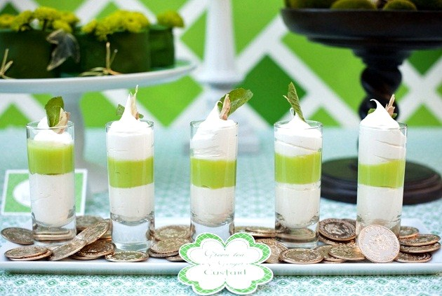 You're going to love this Luck-o-the-Irish baby shower theme created by Honeycomb Events. Lots of details and a backdrop tutorial are included; St Patricks day treats