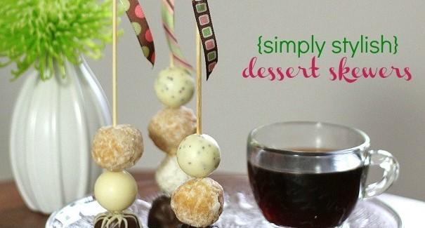 diy dessert skewers