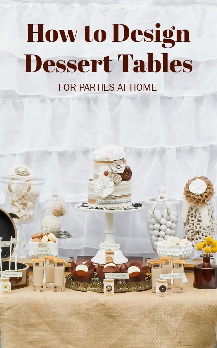 Best tips and ideas for setting up a dessert table for a party