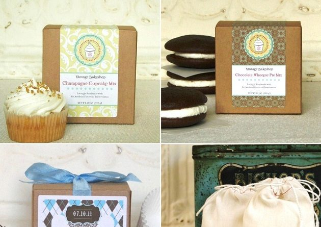 Personalized Favor Boxes & Labels