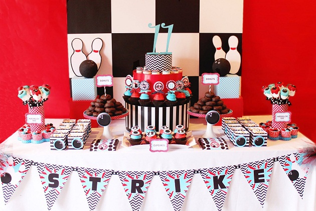 Bowling Birthday Party {Guest Feature}
