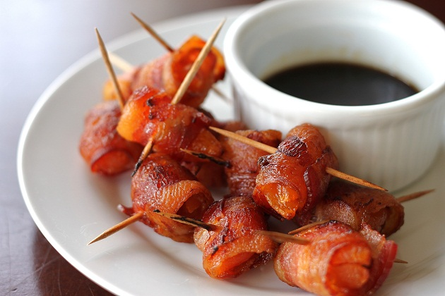 Choose one or all of these bacon appetizers from my 3 favorite recipes, here. Each is equally delicious and easy to make. The best bacon appetizers!