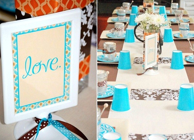 Quot Bicycle Built For Two Quot Bridal Shower Guest Feature
