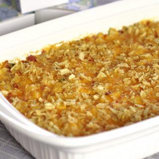 Hashbrown & Ham Brunch Casserole Recipe