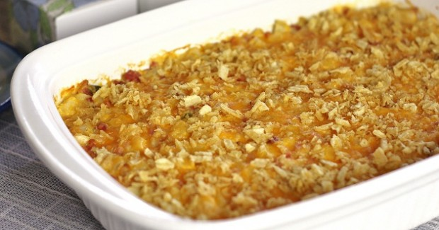 Hashbrown & Ham Brunch Casserole