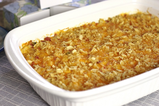 Hashbrown & Ham Brunch Casserole recipe