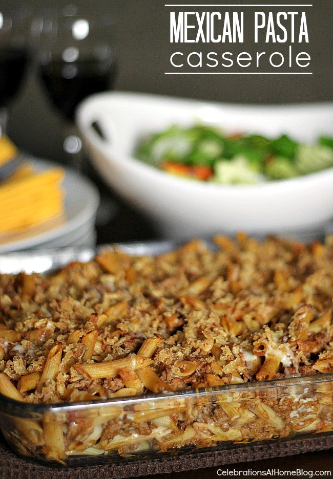 This Mexican casserole is one of our family favorites!