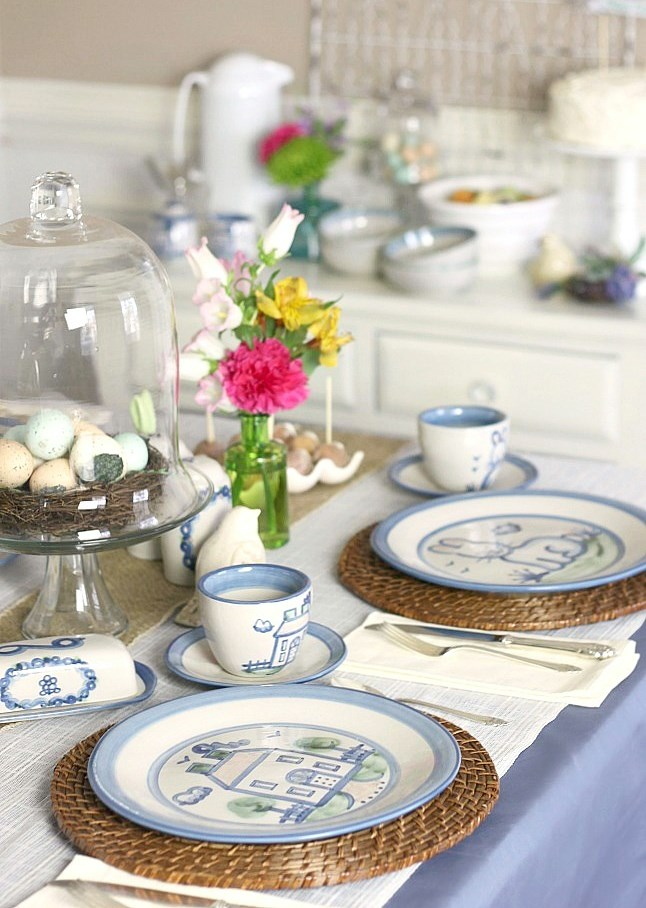 Easter brunch with recipes