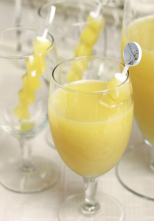 Make this sparkling fruit punch for all your warm weather entertaining at home. It's terrific for Easter and celebratory showers too!