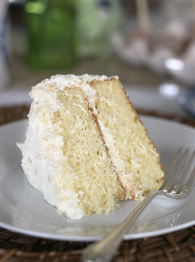 Make this fluffy white layer cake infused with citrus, for Easter brunch or other celebration at home. Get the recipe here.