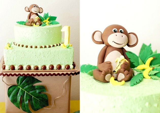 Miraculous Monkeys Bananas First Birthday Guest Feature Celebrations At Personalised Birthday Cards Veneteletsinfo