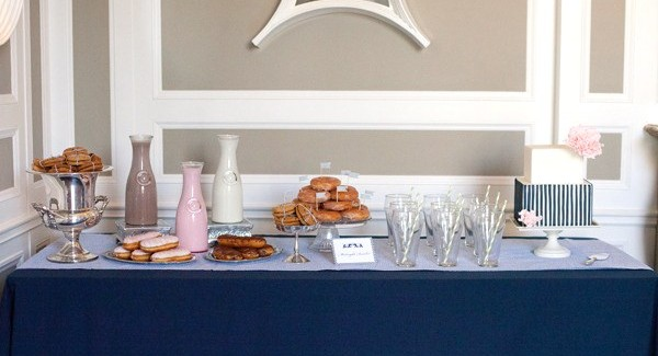 Modern Preppy Dessert Table {Guest Feature}
