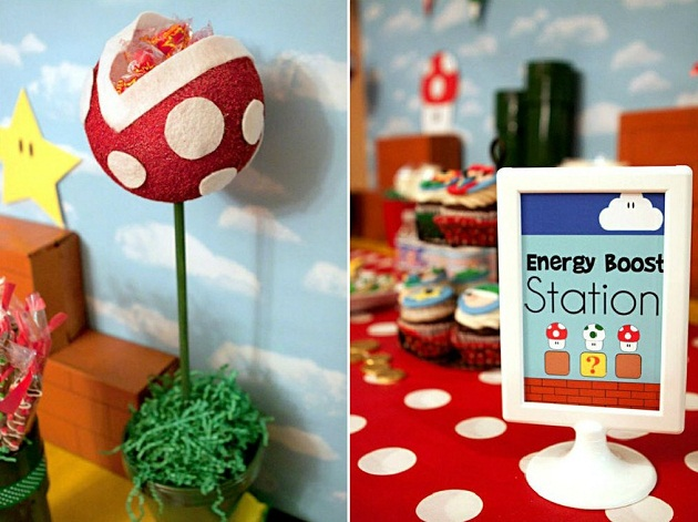 Mario Themed Birthday Party Guest Feature Celebrations at Home