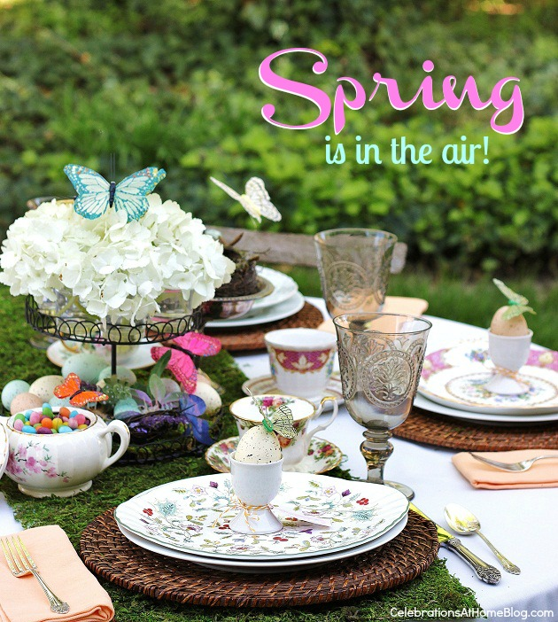Spring - Easter Tablescape