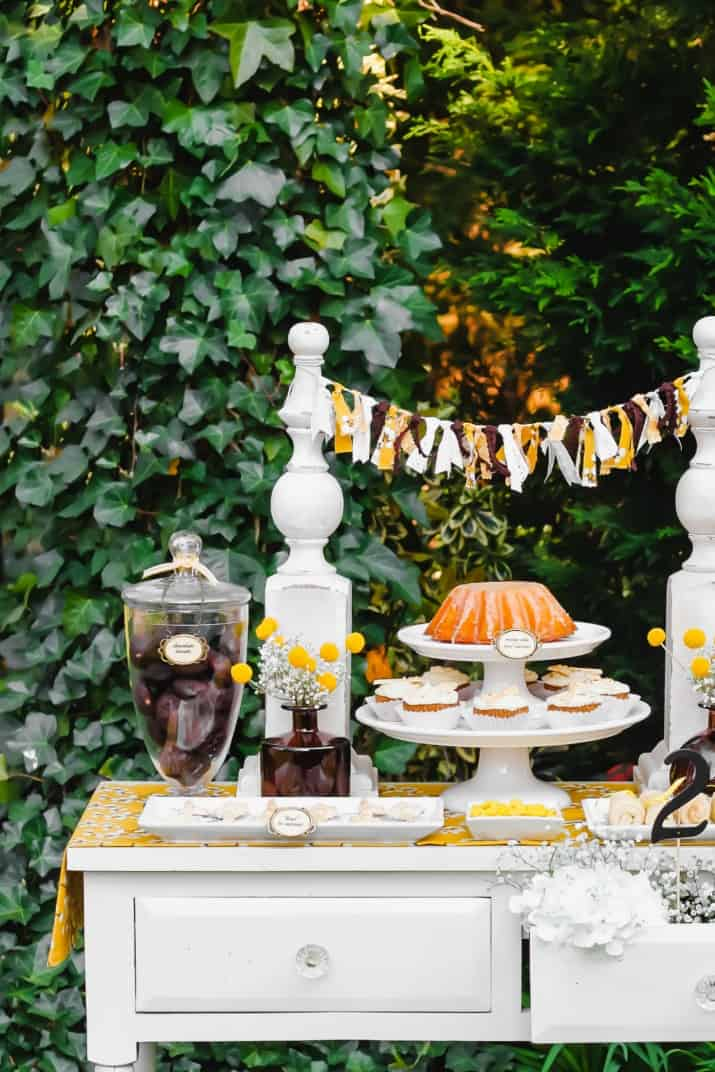 keys to success dessert table