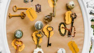 Keys To Success Graduation Party Decor