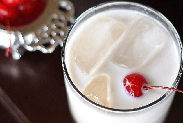 Cherry Almond Cream Cocktail