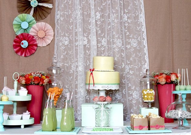 Spring Dessert Table With DIY Tips {Guest Feature}