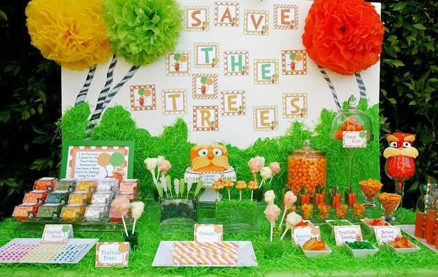 The Lorax Movie Themed Birthday Party {Guest Feature}