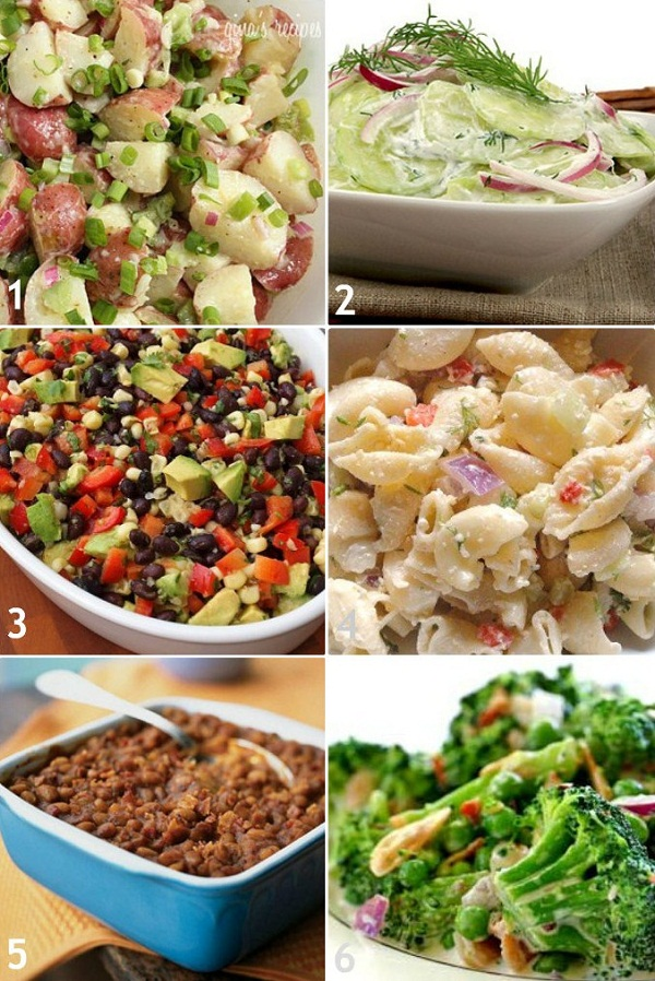 Summer side dish recipes celebrations at home for Side dish recipes for grilling out