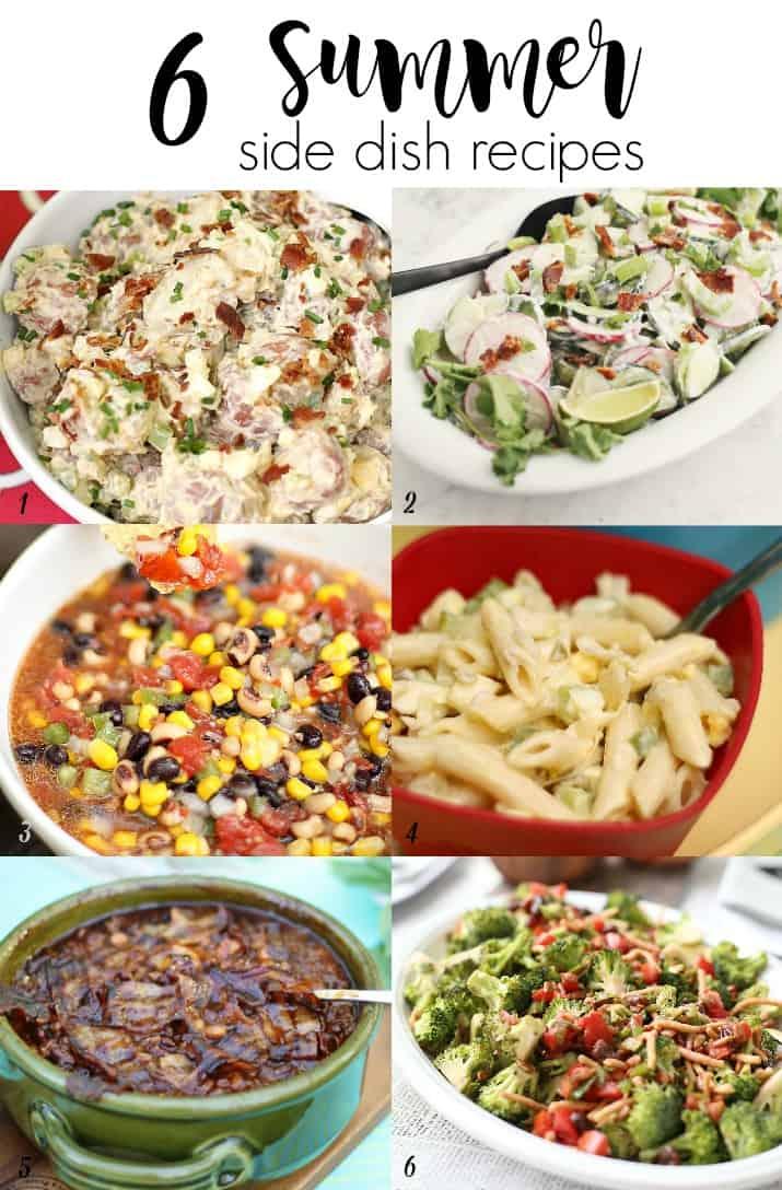 6 summer side dish recipes
