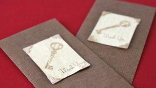 Keys To Success Favor Bag Tags