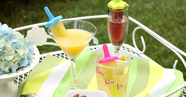 Juice Pop Cocktails & Mocktails