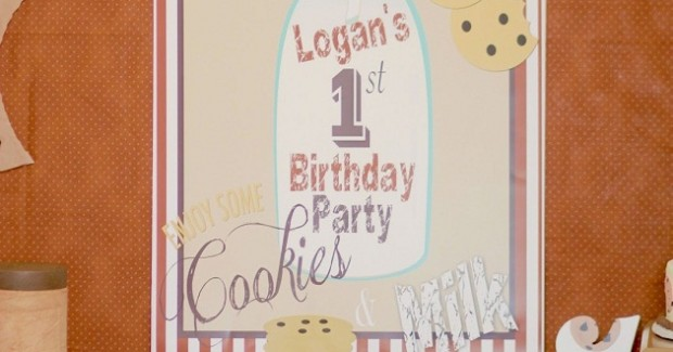 Cookie Monster 1st Birthday Party {Guest Feature}