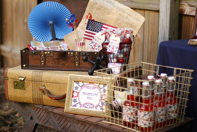 4th of July party ideas decor
