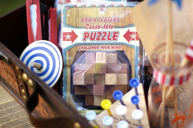4th of July party ideas, vintage toys and activities