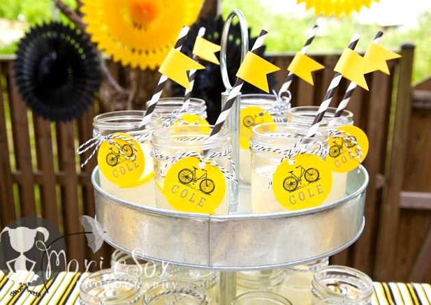 Bike Themed Birthday Party {Guest Feature} - Celebrations