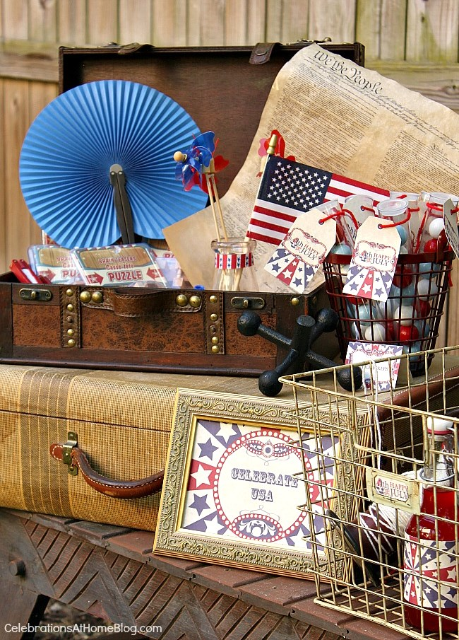 If you like vintage style you'll love these 4th of July party ideas with classic Americana style.