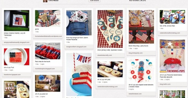 4th of July Pinterest board